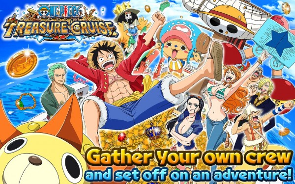One Piece Treasure Cruise Full Unlocked MOD Unlimited All Money Cash v7.0.0 Apk Android Terbaru