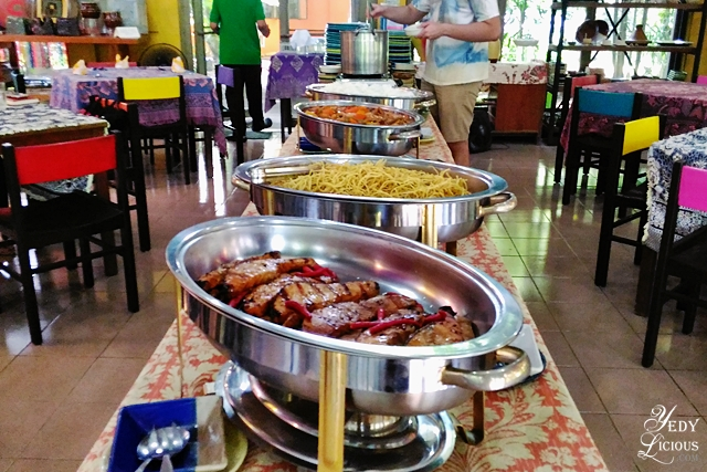Lunch Buffet at Crescent Moon Cafe Antipolo