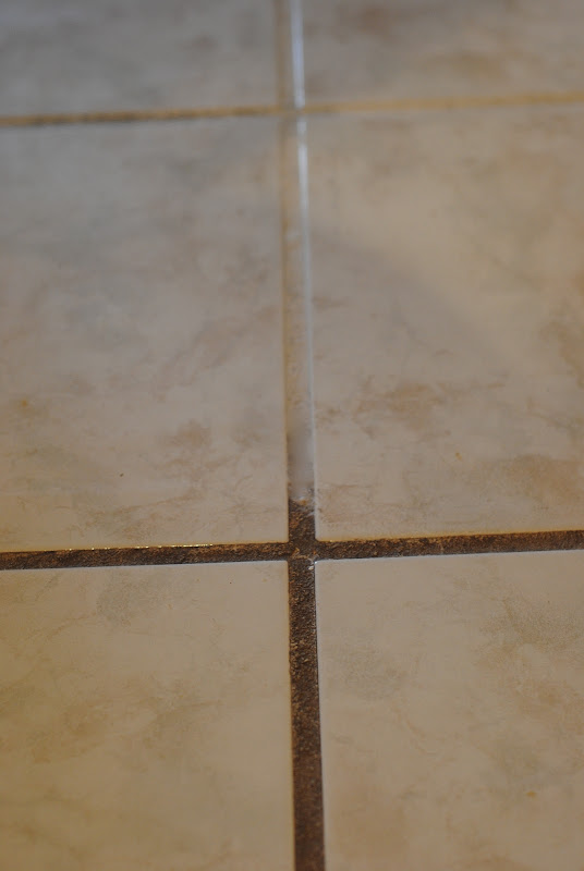 Cleaning Grout Lines On Tile Floor