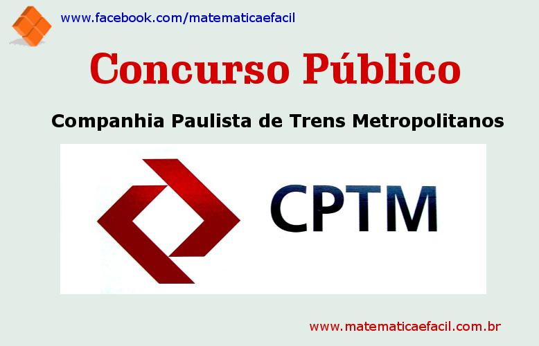 Concurso Público para a CPTM 2018