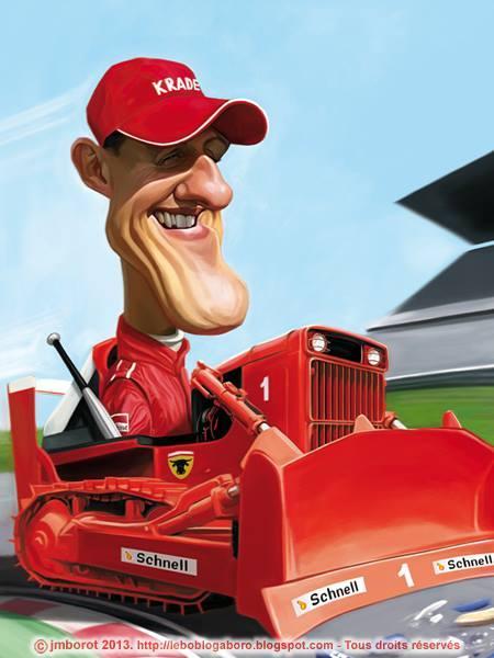 Michael Schumacher por Jean-Marc Borot