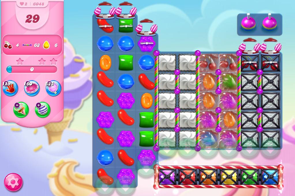 Candy Crush Saga level 6048