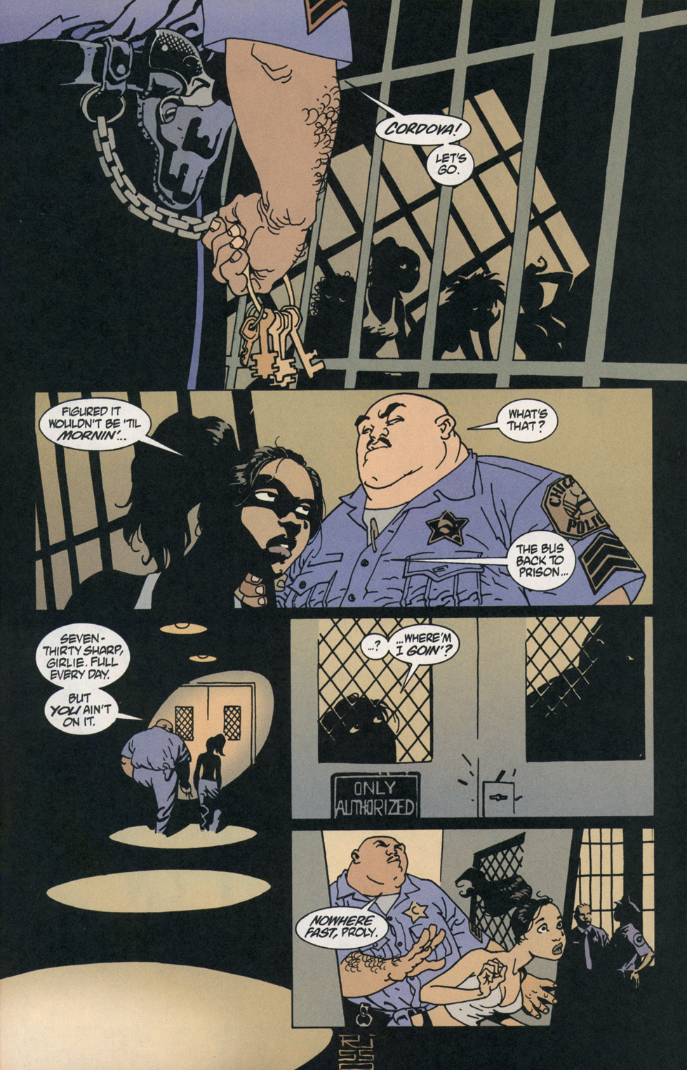 Read online 100 Bullets comic -  Issue #2 - 18