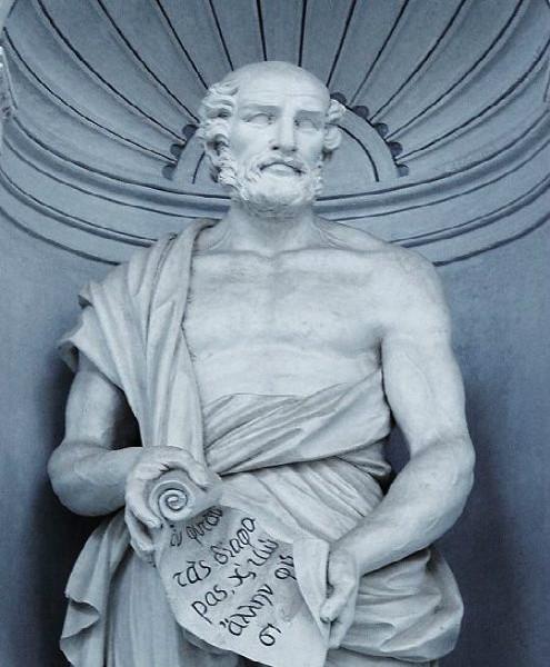Megasthenes statue