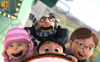 Despicable Me 3D Movie Characters HD Wallpaper