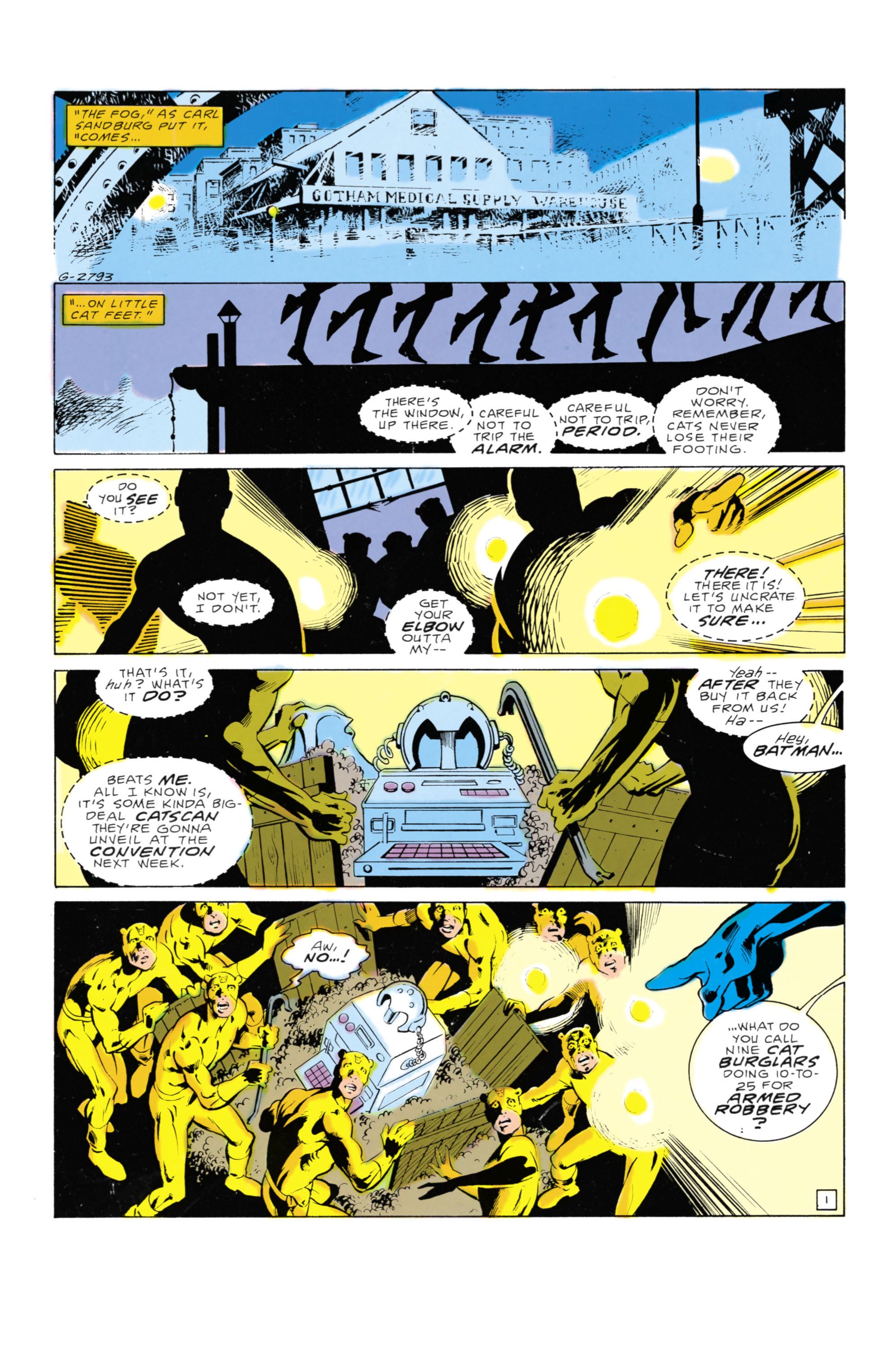 Detective Comics (1937) 569 Page 1