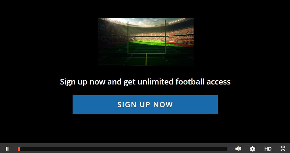 how to watch football live stream