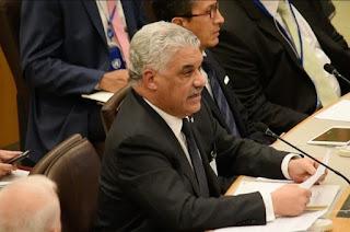 Canciller Miguel Vargas sostuvo varias reuniones con sus homólogos en Nueva York