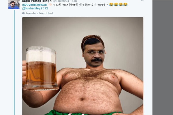 केजरीवाल बोले नरेंद्र मोदी दलित विरोधी, लोग बोले सर जी कितनी पी ली है?
