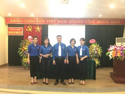 Ban chấp hành Đoàn Thanh niên Bệnh viện Xây dựng Việt Trì nhiệm kỳ 2017- 2019 ra mắt Đại hội