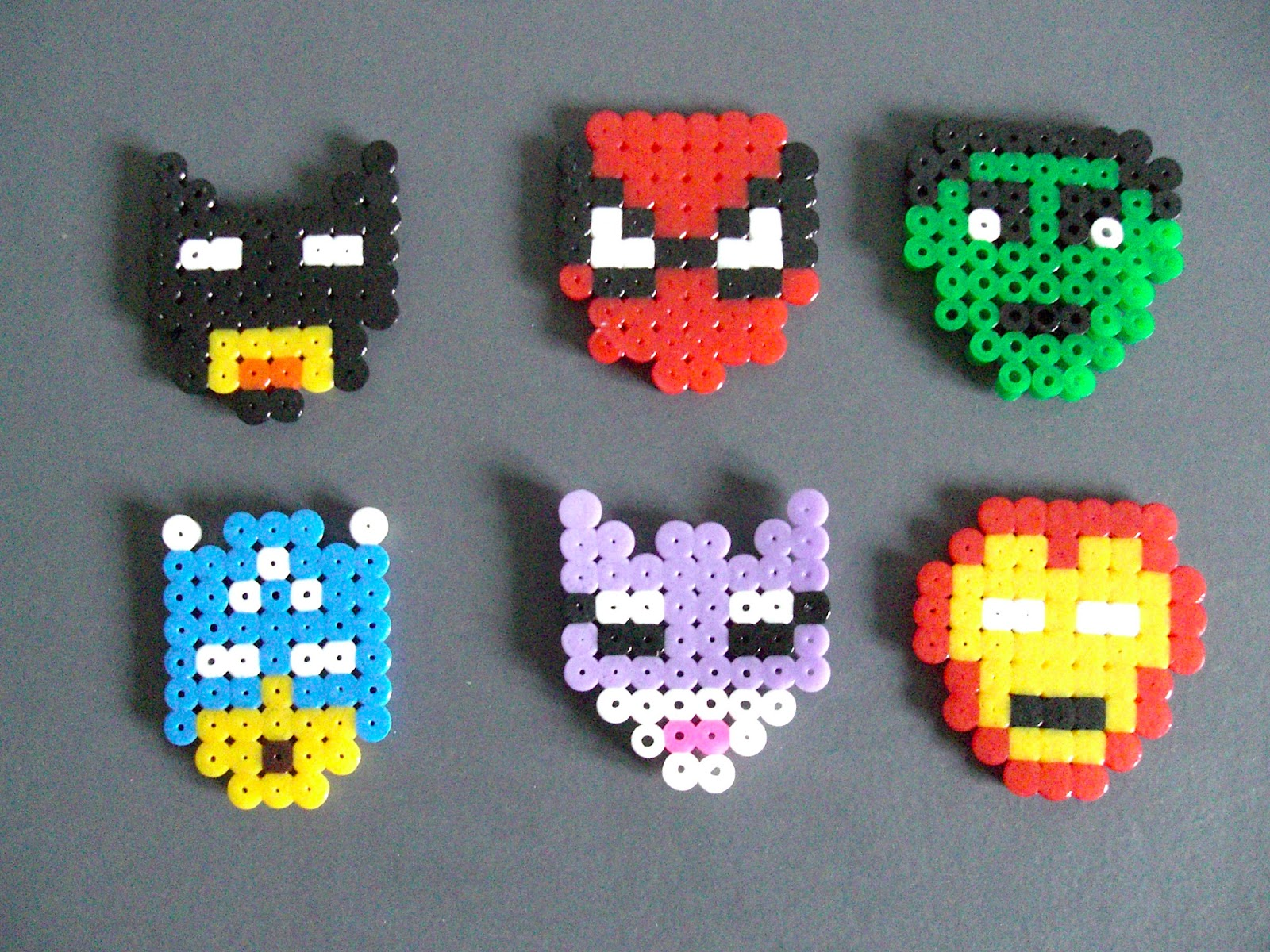 Hama Beads Spiderman: Search And Superman On Pinterest
