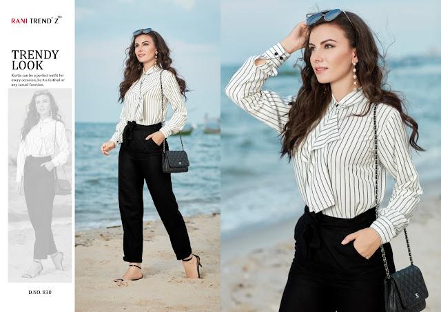 Rani Trendz Sofiya nx Kurtis With Pant Western Collection