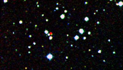 Una immagine di WISE delle stelle più vicine viste all'infrarosso