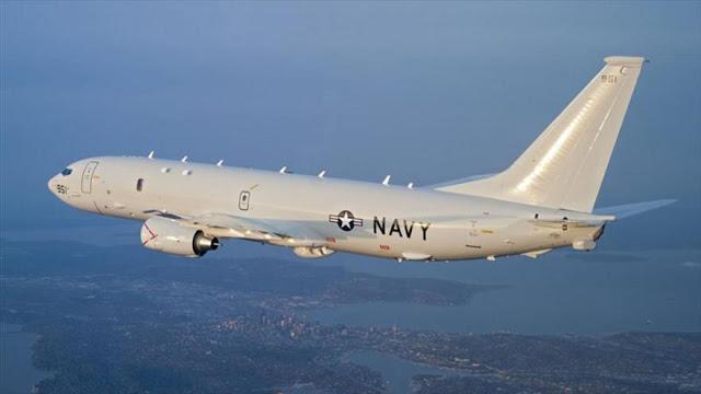 """""""Avión espía de EEUU se acerca a las costas de El Líbano y Siria"""""""