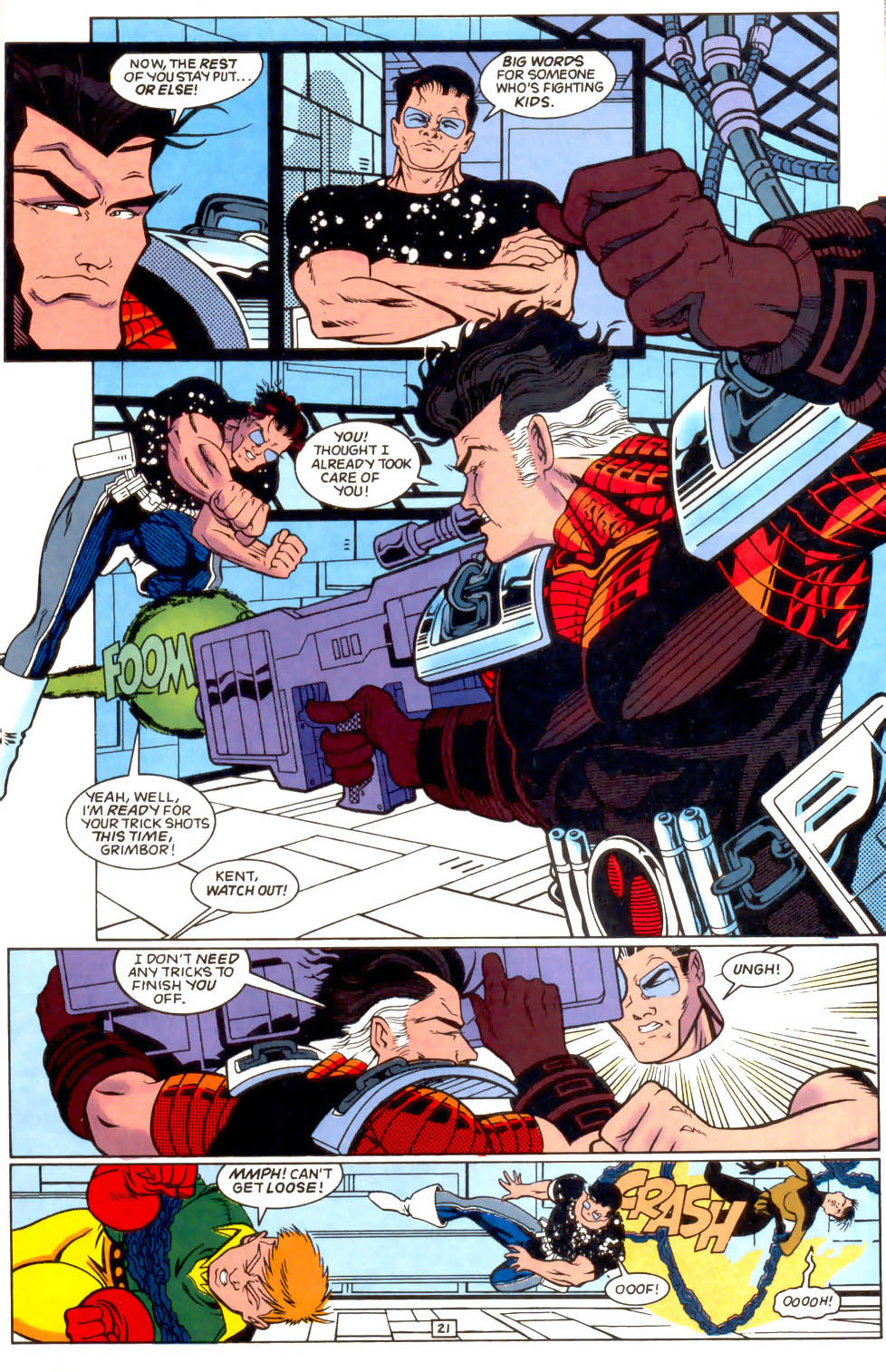 Legion of Super-Heroes (1989) 51 Page 21