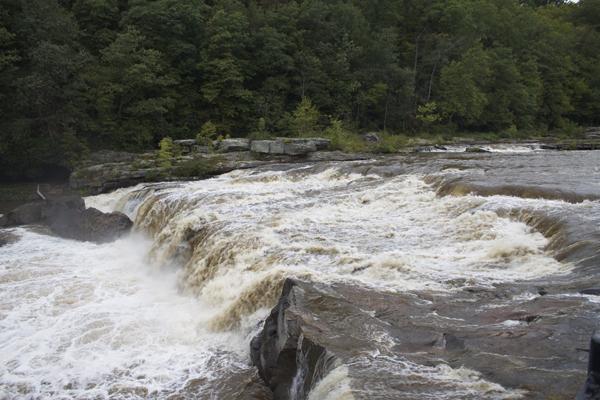 Ohiopyle State Park, Ohiopyle Waterfall