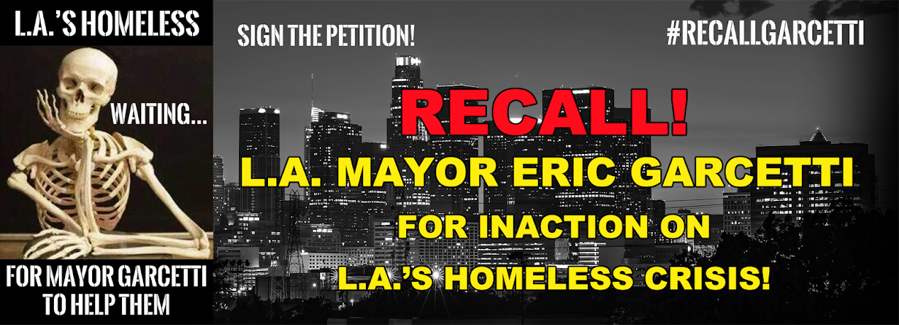 Recall Los Angeles Mayor Eric Garcetti