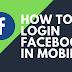 Mobile Login for Facebook