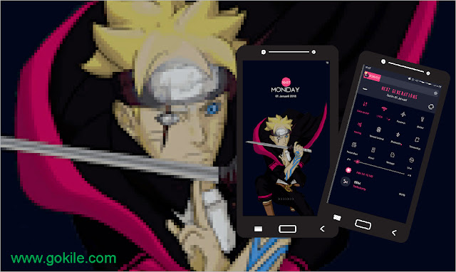 Download Tema Anime Boruto Mtz Terbaru For Xiaomi Paling Keren