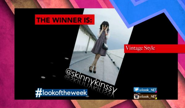 #lookoftheweek winner on @ilook_NET