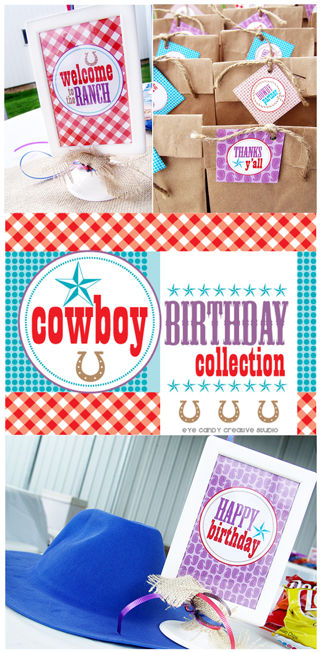 cowboy party ideas, cowboy party, howdy partner, welcome to the ranch