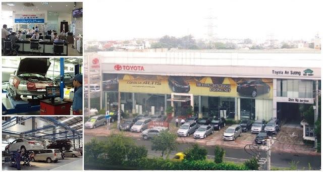 Đại lý Toyota An Sương - Đại lý 3S hàng đầu Việt Nam