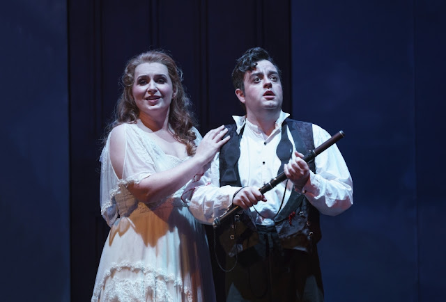 WNO The Magic Flute - Pamina played by Anita Watson, Tamino played by Ben Johnson