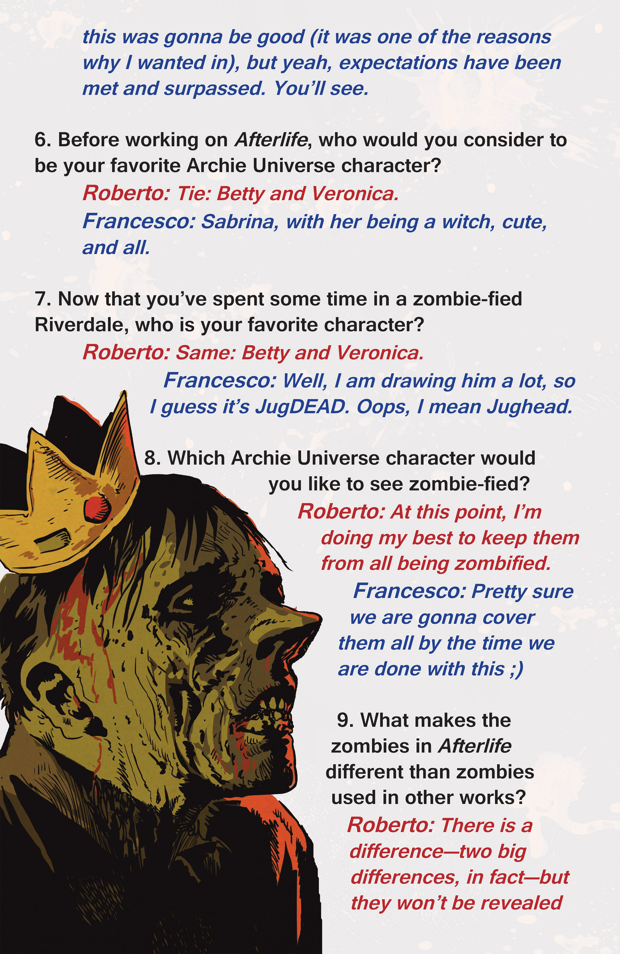 Read online Afterlife with Archie comic -  Issue #1 - 29