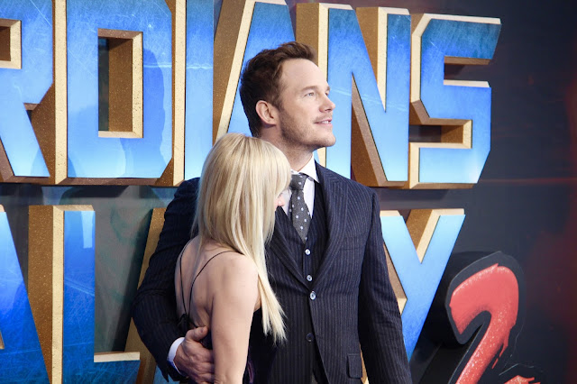 Anna Faris and Chris Pratt Guardians of the Galaxy Vol.2