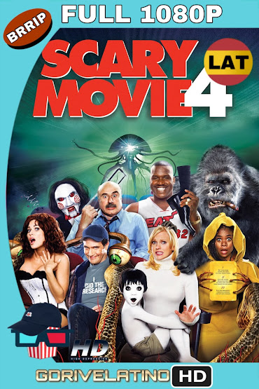 Scary Movie 4 (2006) UNRATED BRRip 1080p Latino-Ingles MKV