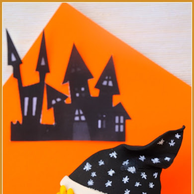 DIY Cute Halloween Witch Cupcakes Toppers
