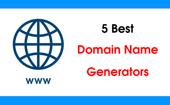 5 Best Domain Name Generators