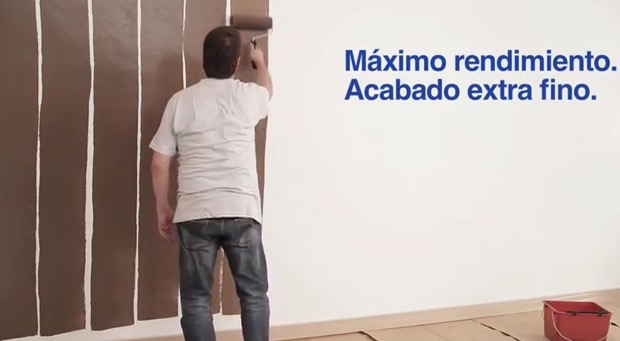 Que rodillo utilizar para pintar - Pintar paredes estucadas ...