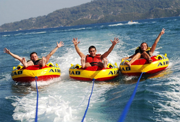 Bali Water Sports Tour | Donut Boat | Sunia Bali Tour