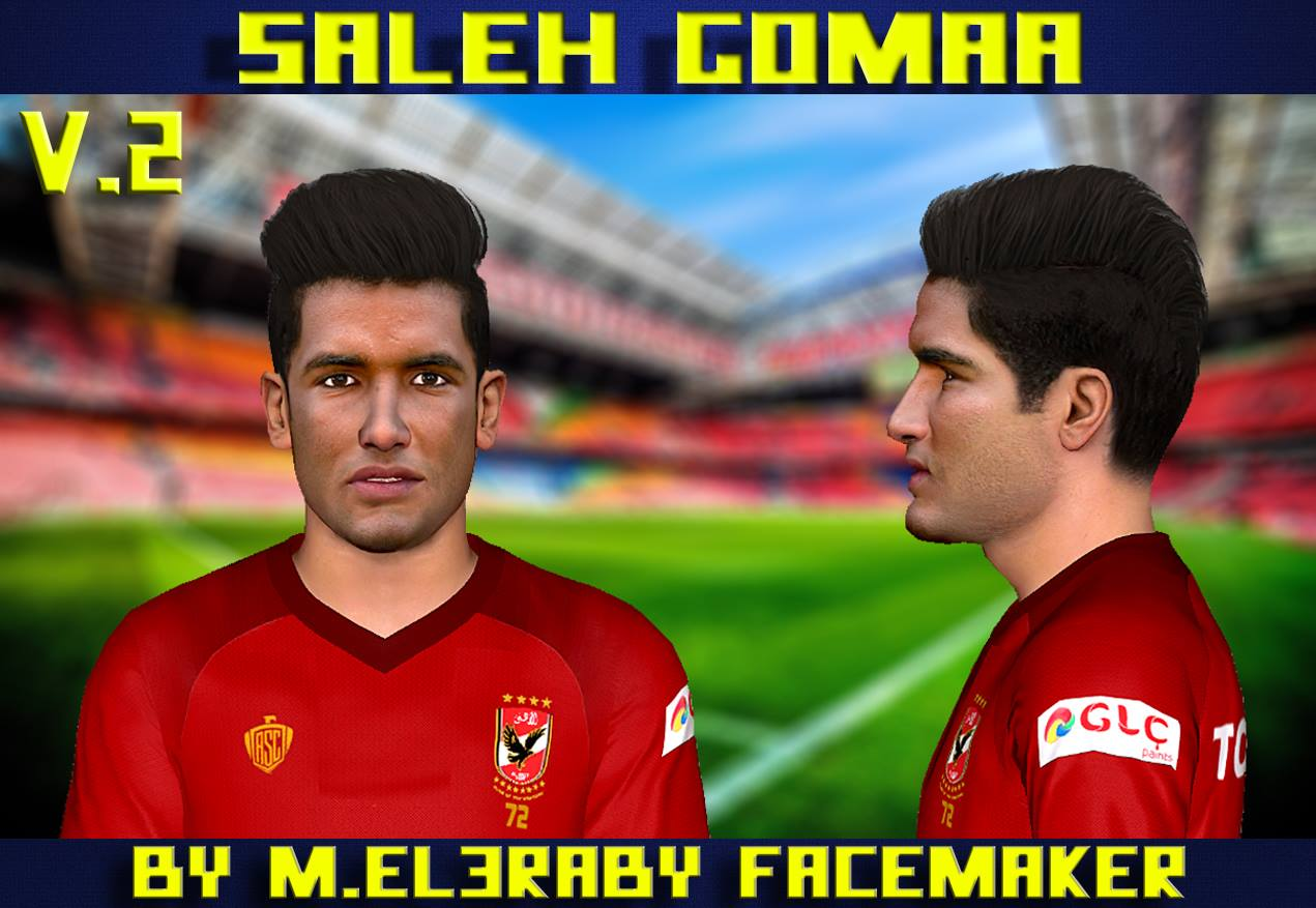 PES 2017 Saleh Gomaa Face V.2 by M.Elaraby Facemaker