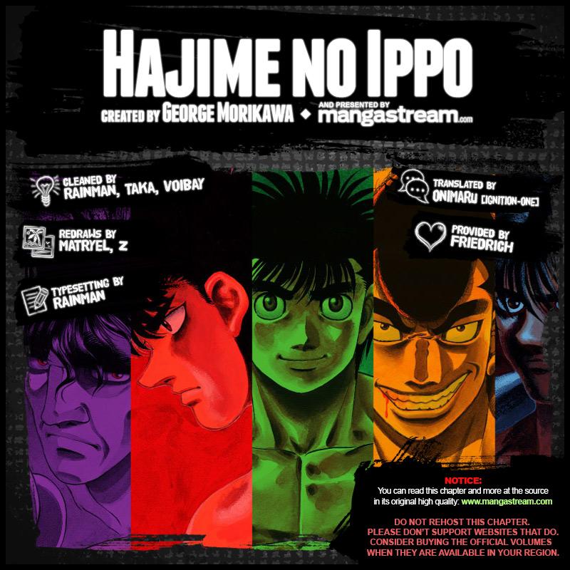 Hajime No Ippo 1167 En