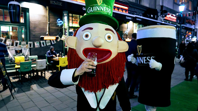 Toți suntem nițel irlandezi pentru un weekend