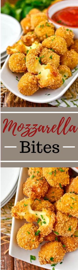 Gluten-Free Mozzarella Bites #healthysnacks