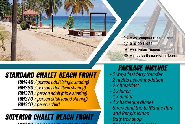 2019 3 Days 2 Nights at Idaman Beach Holiday Resort - Pulau Tioman Malaysia