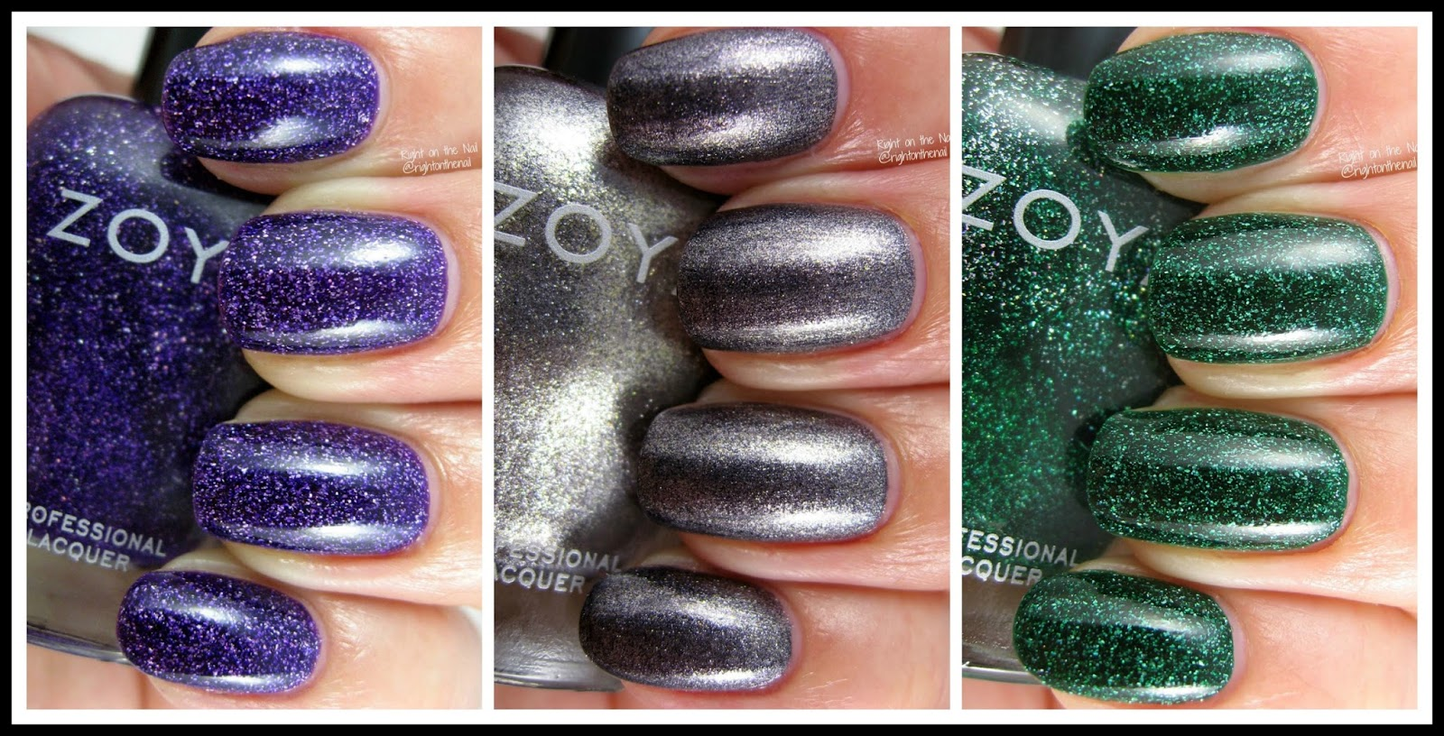 Right on the Nail: Zoya Fall 2016 Urban Grunge Collection Metallic ...
