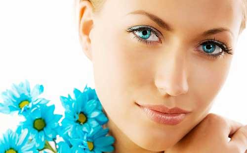 maquillaje para piel sensible y seca