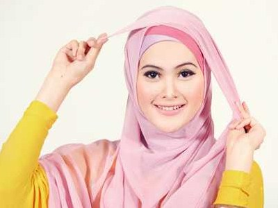 merawat rambut dalam hijab