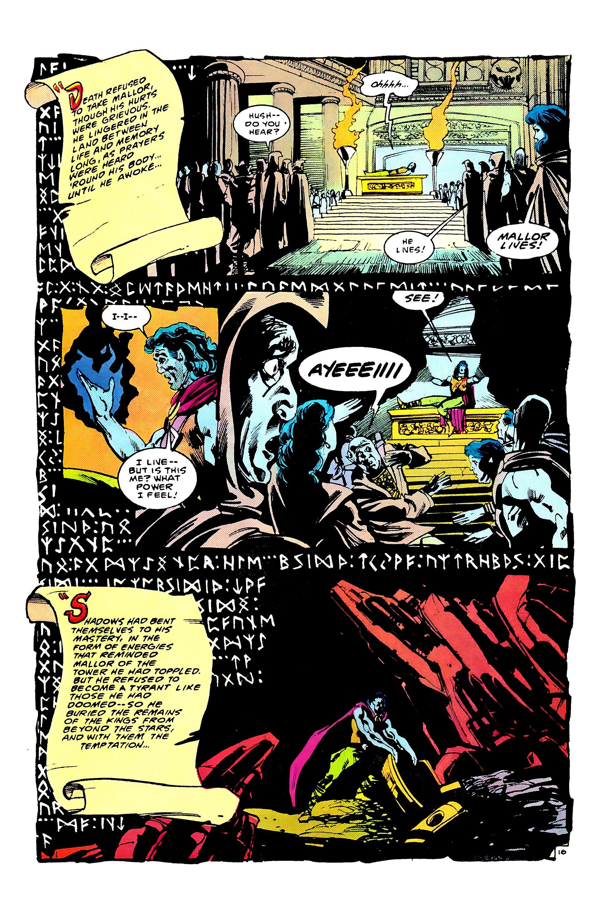Read online Secret Origins (1986) comic -  Issue #8 - 22