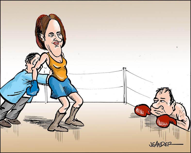 JEANDERS BILDBLOGG: Opposition med förhinder..