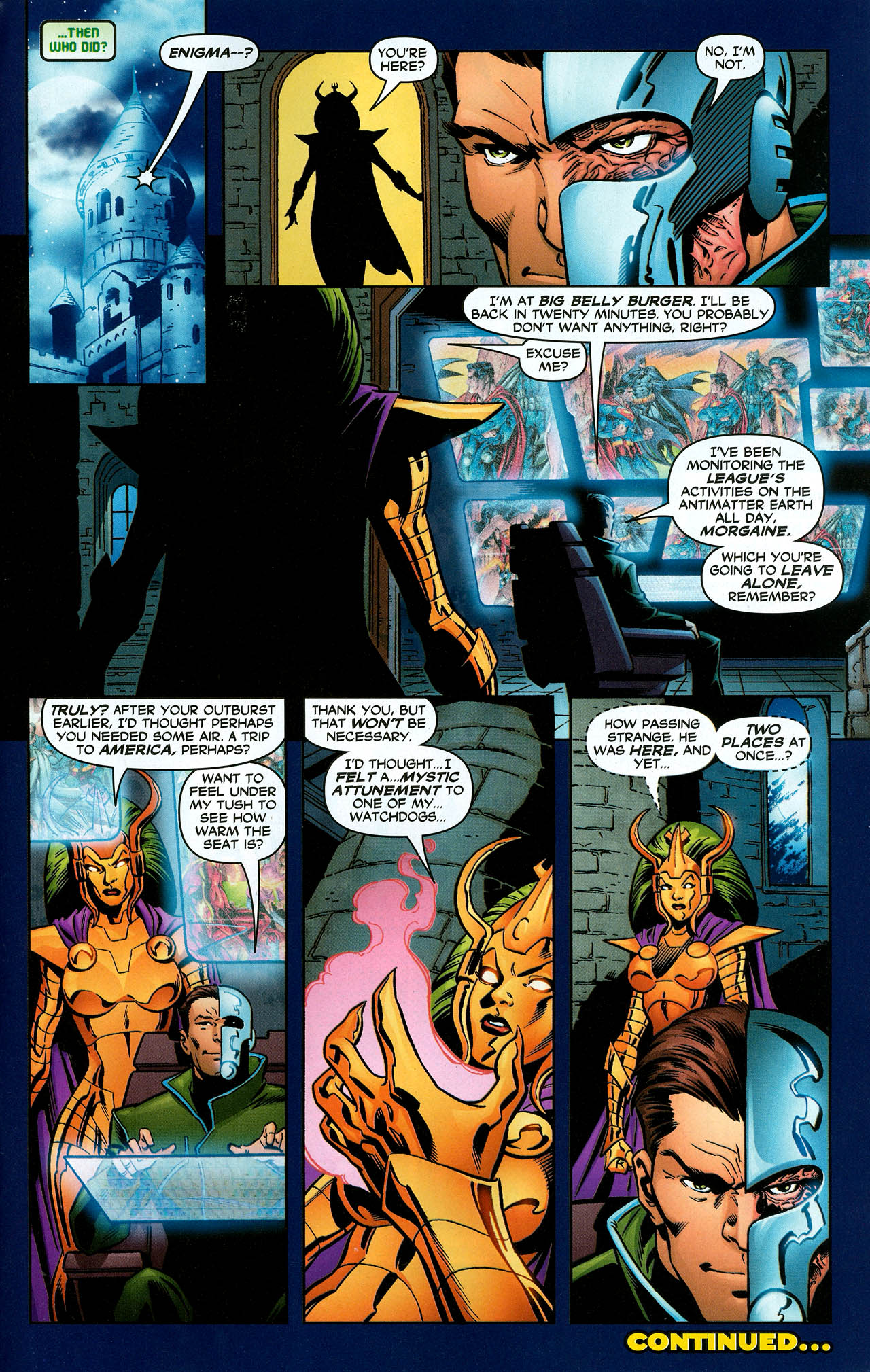 Read online Trinity (2008) comic -  Issue #12 - 33