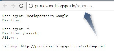 Submit robots.txt file to Google Step3