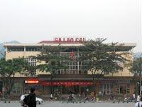 Train station of Lao Cai (Sapa)