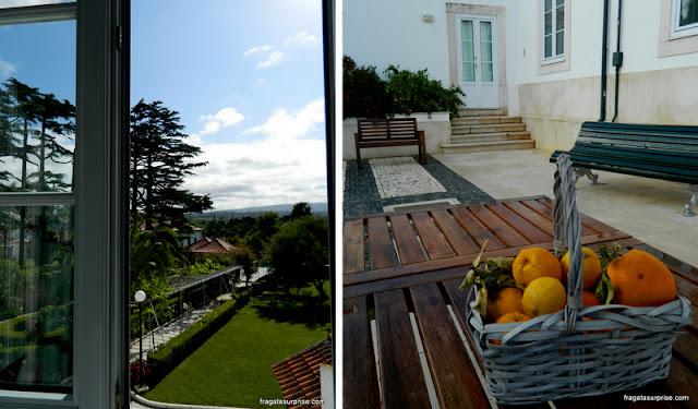 Jardins do Hotel Solar Cerca do Mosteiro, Alcobaça, Portugal