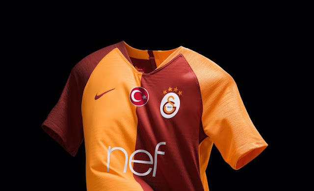 pretty nice 36a1a 497e2 Galatasaray S.K. 2018/19 Kit - Dream League Soccer Kits ...