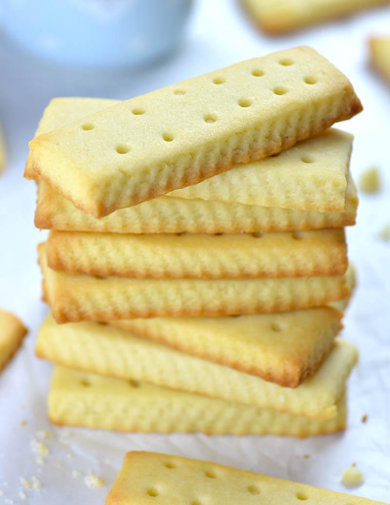 Easy Shortbread Cookies Recipe #cookiesrecipes